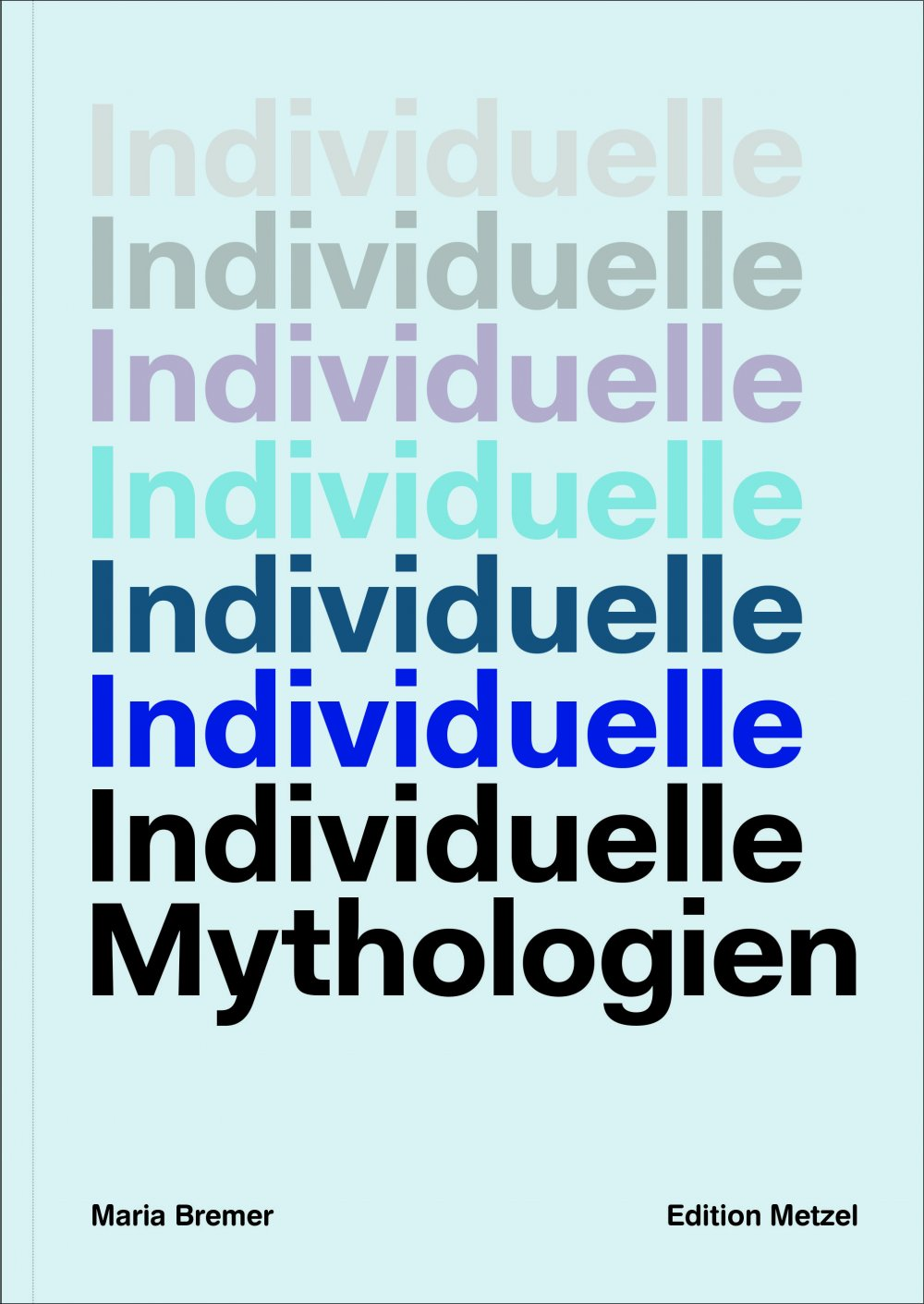 cover: Individuelle Mythologien