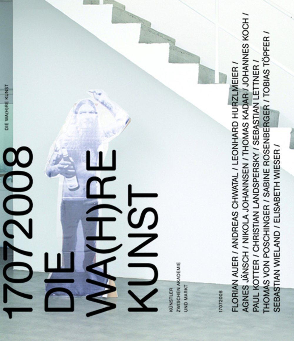 cover: DIE WA(H)RE KUNST